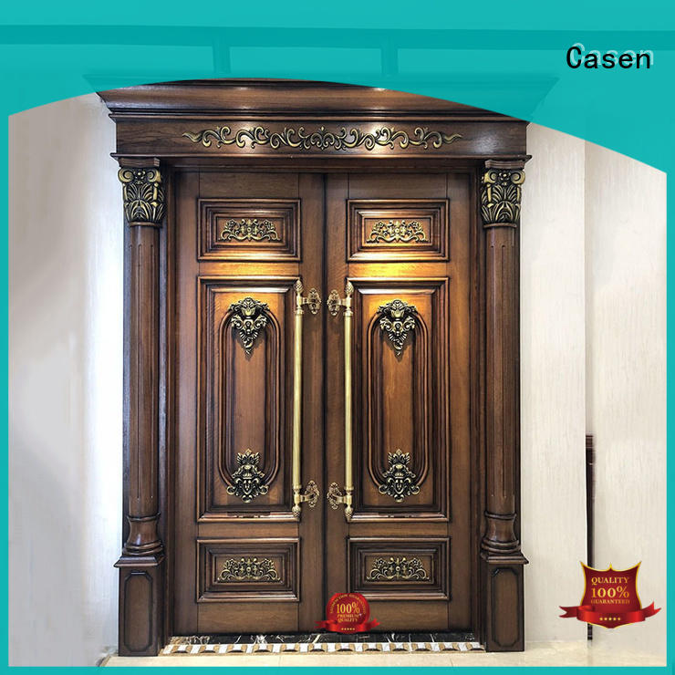 natural beautiful outside Casen Brand contemporary entry doors factory