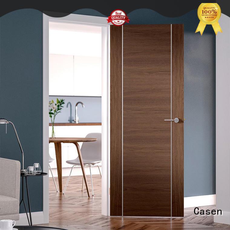 Casen luxury soundproof door stainless steel for bathroom