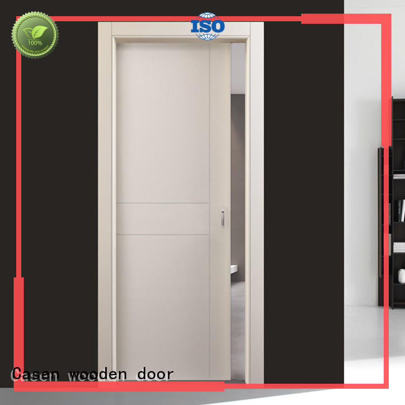 Casen high-end single wooden door designs for indian homes cheapest factory price for living room