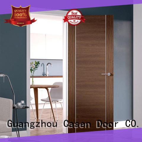 modern design solid wood door for shop