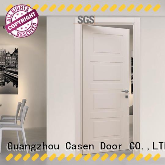 Casen wooden modern composite doors dark for bedroom