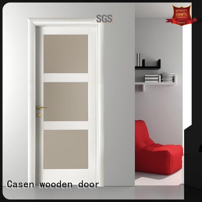 wooden bathroom doors glass aluminium for bedroom