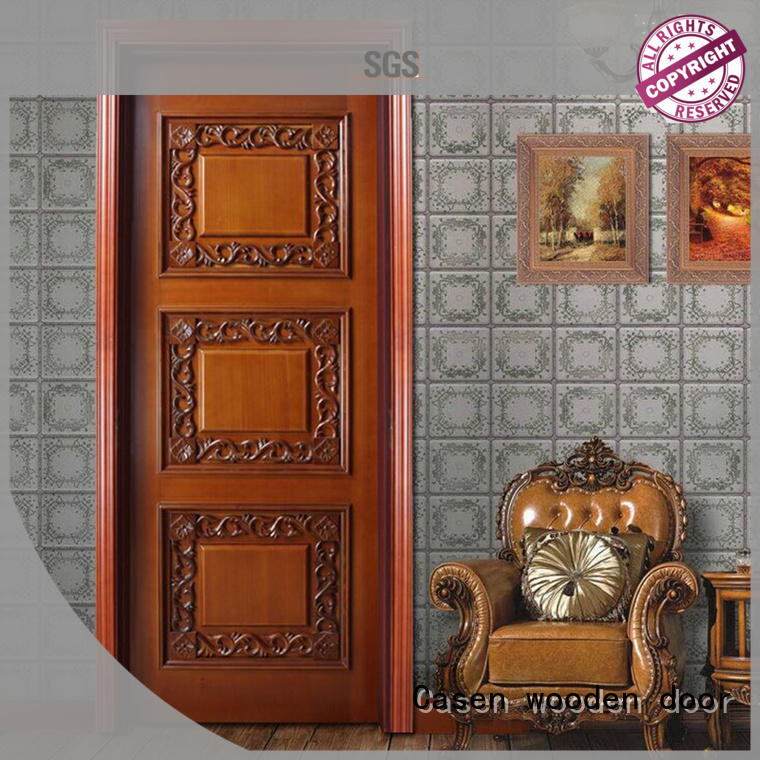 wooden fashion doors single for bathroom Casen