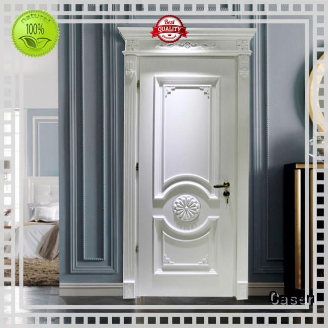 white color internal wooden doors easy for store decoration