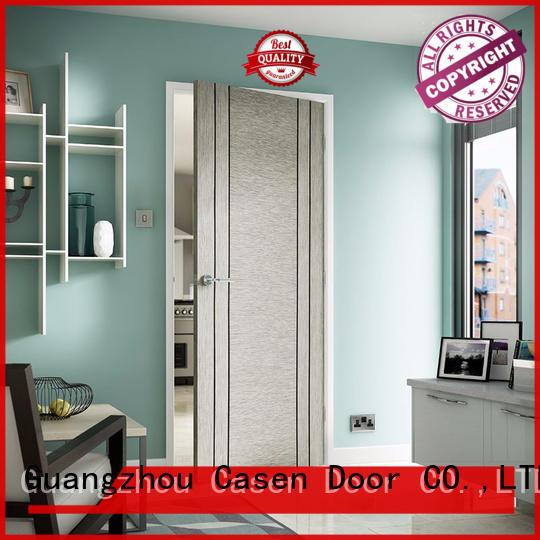 high-end interior wood doors simple for hotel