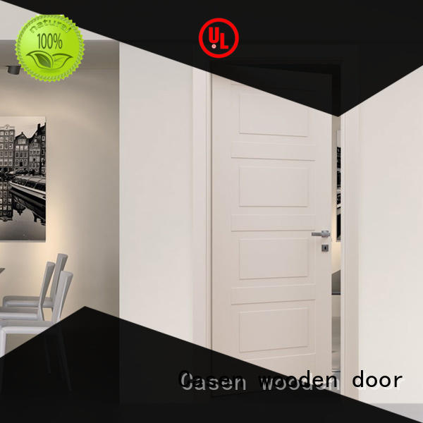 Casen flat modern composite doors gray