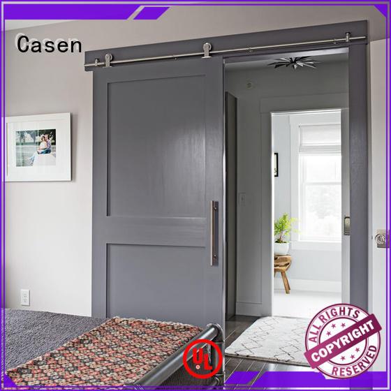 latest interior barn doorsglassOEM for washroom