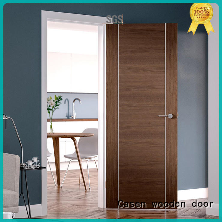 ODM wooden door high-end solid wood for store