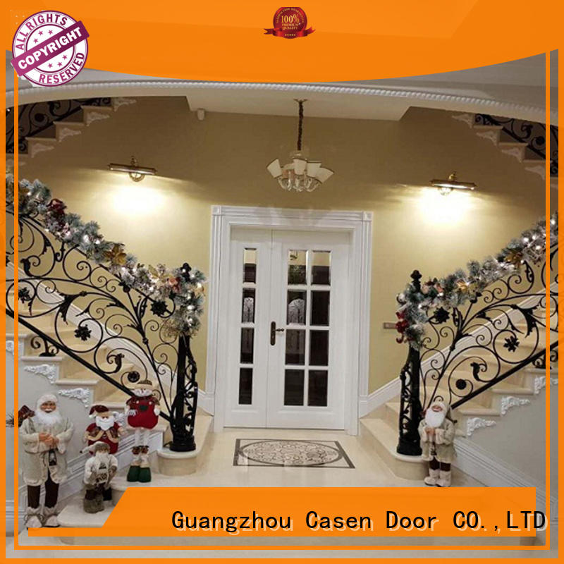 Casen outside solid wood front doors fashion for shop