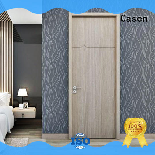 Casen elegant interior wood doors cheapest factory price for store