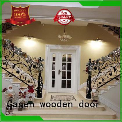 Casen beautiful oak exterior door luxury design for villa