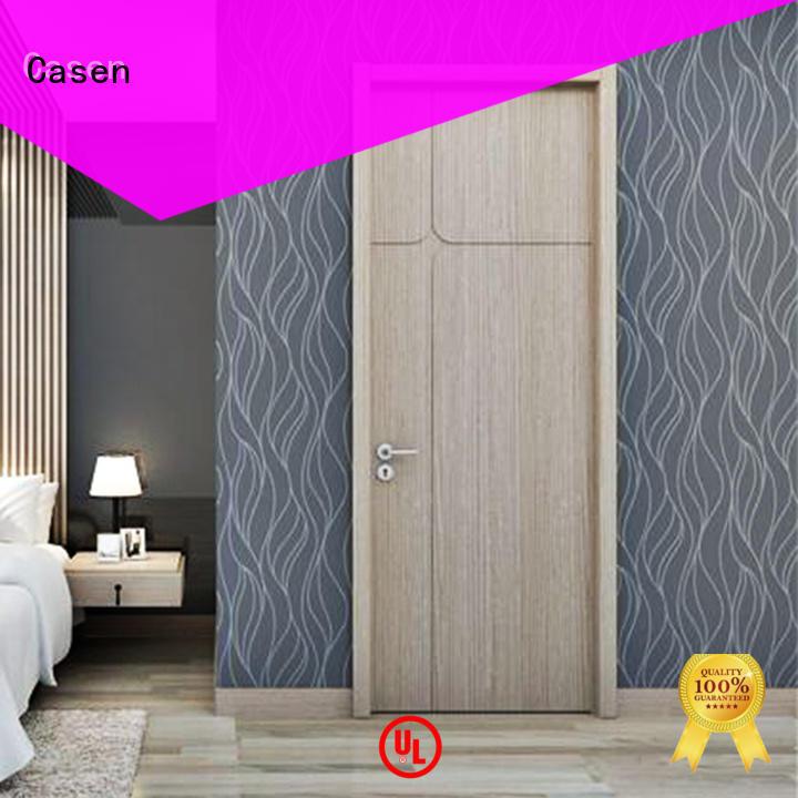 Casen funky interior wood doors wholesale for shop