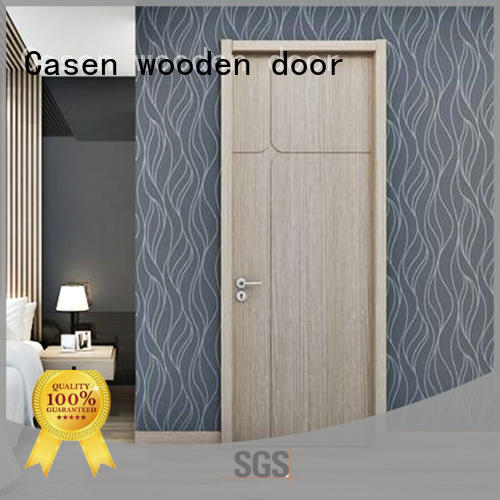 Casen chic interior wood doors at discount for store decoration
