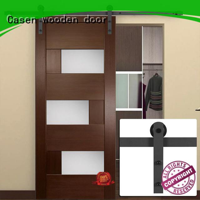glass interior barn doors high quality for bedroom Casen