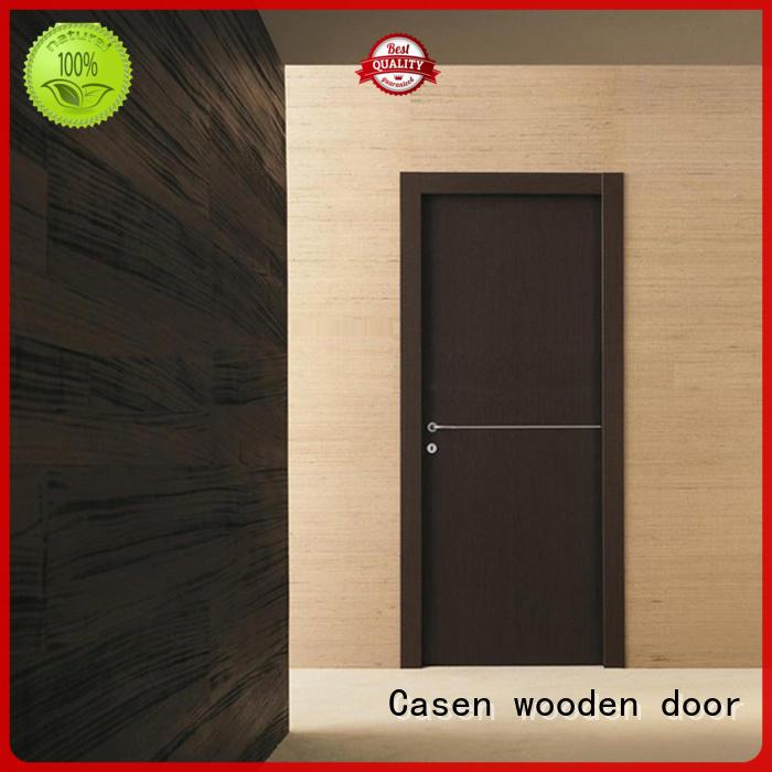 Casen chic natural wood door for bedroom