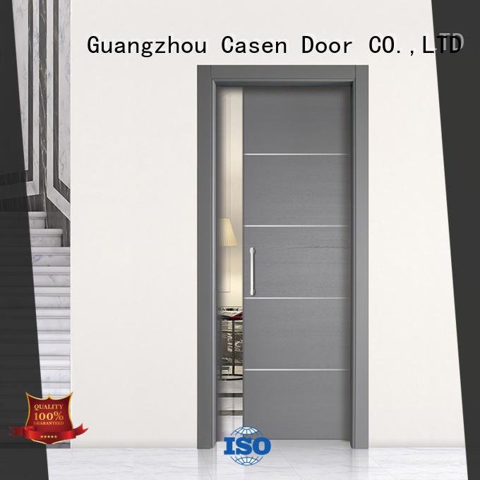 half glass interior door hot-sale for bedroom Casen