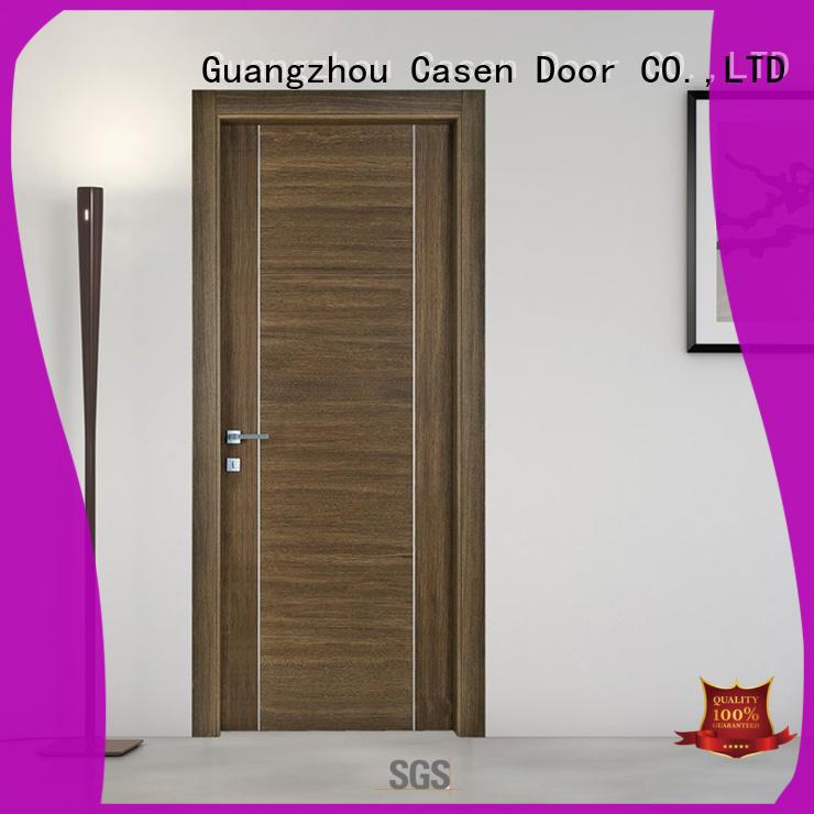Casen modern design solid wood door simple for shop