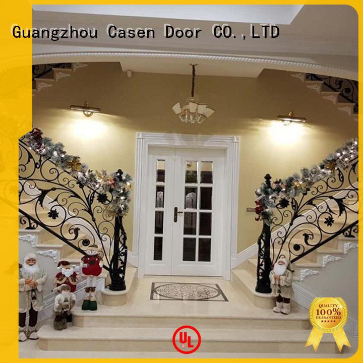 Casen wooden modern entry doors fashion for house