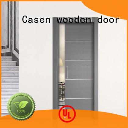 wooden half glass interior door hot-sale glass aluminium