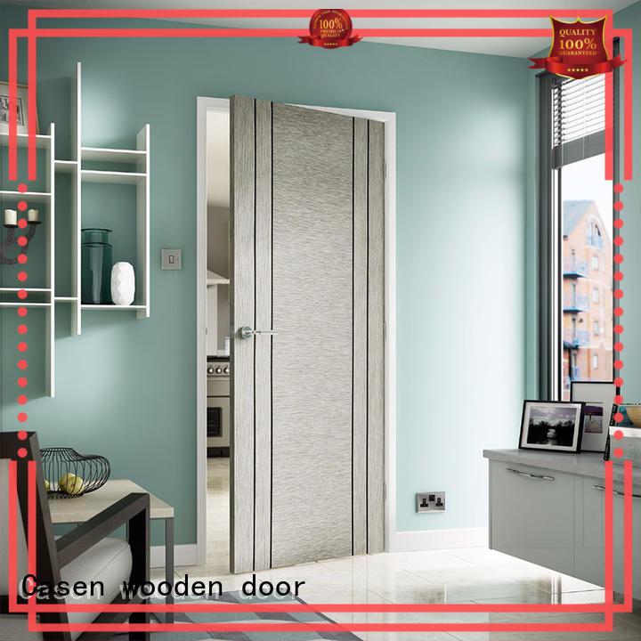high-end fireproof wood door luxury for bedroom Casen