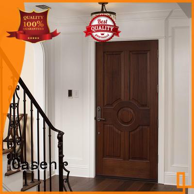 flat wood bedroom Casen Brand solid core mdf interior doors factory