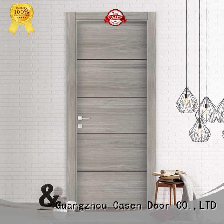 Casen wooden modern exterior front doors top brand for bathroom