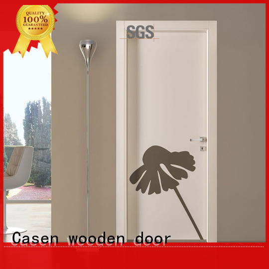 future white hdf moulded door main Casen company