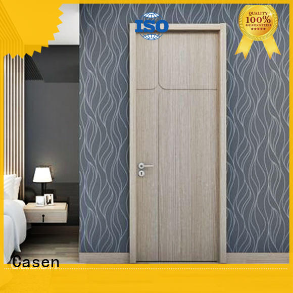 Casen chic interior wood doors cheapest factory price for bathroom