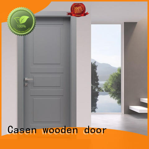 white wood 4 panel doors wooden for bedroom Casen