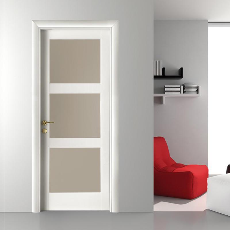 wooden bathroom doors glass aluminium for bedroom-1