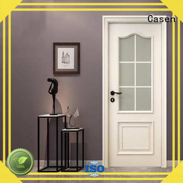Casen wooden american doors modern for bathroom