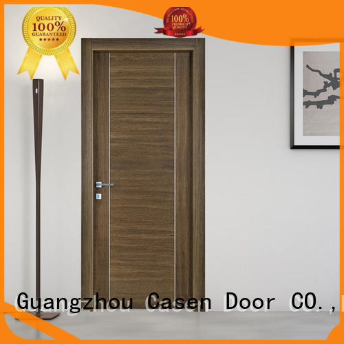 wooden paint grade doors stainless steel for washroom Casen