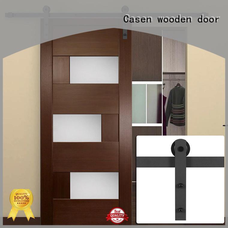 Hot washroom mdf barn door space Casen Brand