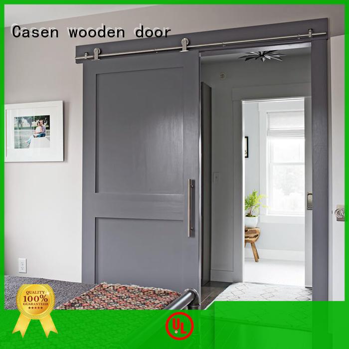 special interior barn doors OEM for washroom