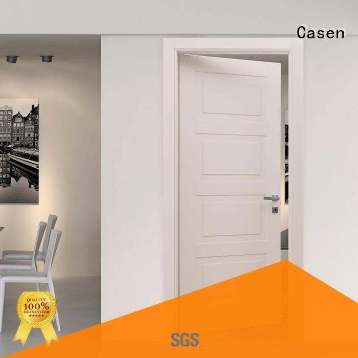 Casen plain composite interior doors interior for washroom