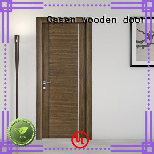Casen wooden modern house doors for store