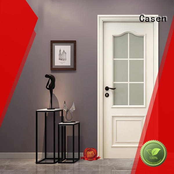 Casen white color fashion doors carved flowers for kitchen