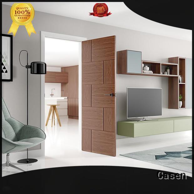 solid wood interior doors wood soundproof door Casen Brand