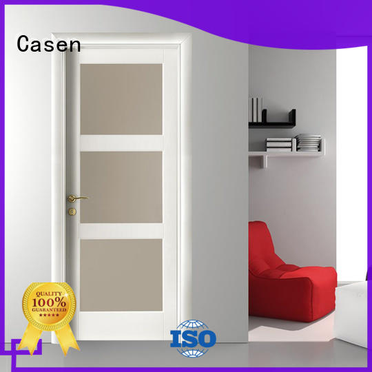 Casen wooden bathroom door for bedroom