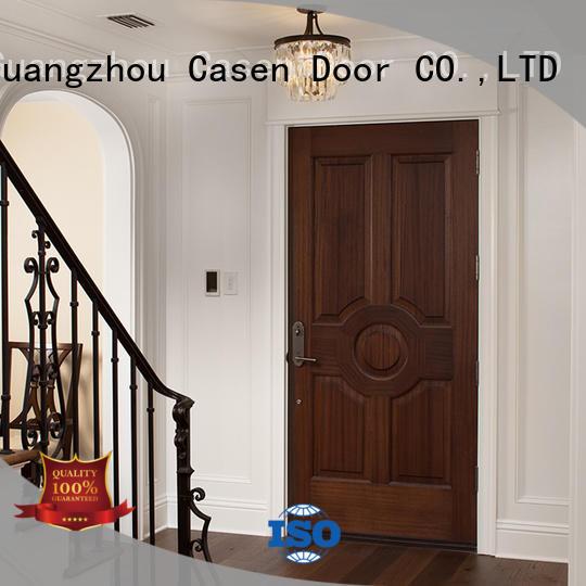 Casen free delivery hotel door easy installation for washroom