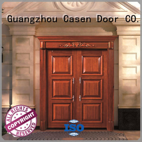 Casen Brand design carved luxury contemporary entry doors style