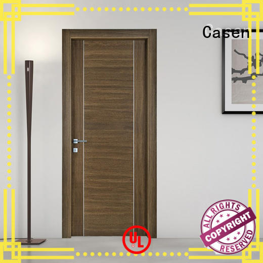 simple natural design soundproof door Casen Brand