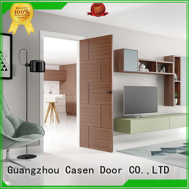 Casen high quality solid wood door at discount for hotel