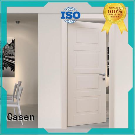 Casen light color 6 panel doors dark for bedroom