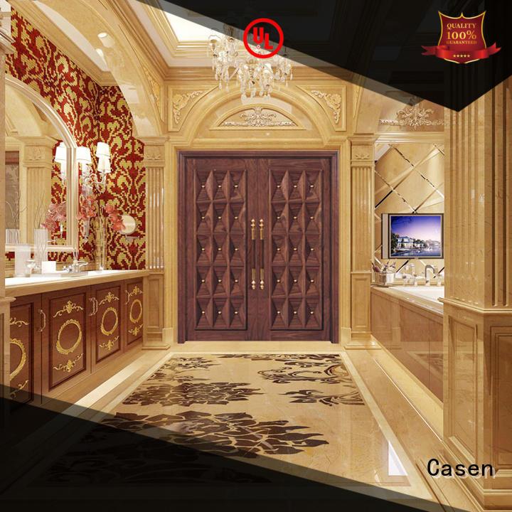 Casen iron oak doors fashion for store
