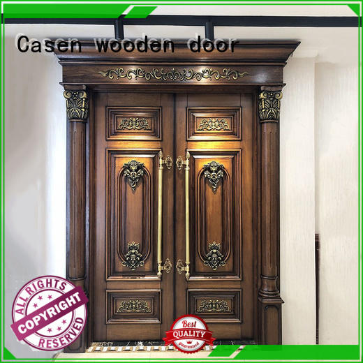 luxury Custom design contemporary front doors fashion Casen