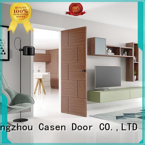 simple interior natural design Casen Brand soundproof door supplier