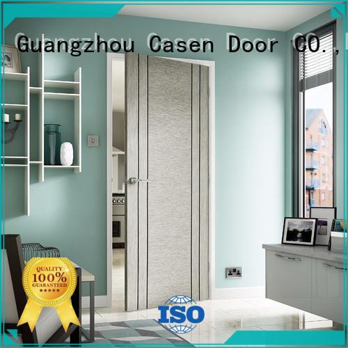 wood door soundproof door popular natural Casen company