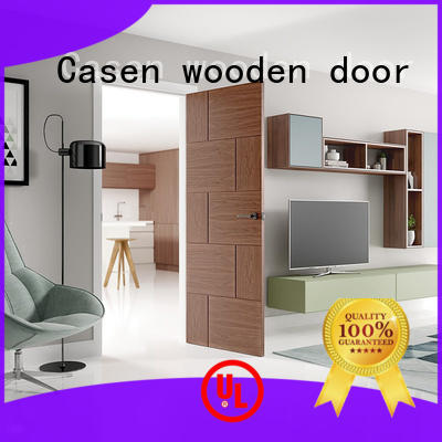 Hot hotel solid wood interior doors steel Casen Brand