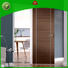 aluminium natural wood door for shop Casen